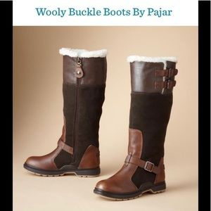 Pajar Wooly Buckle Boots size 9-91/2